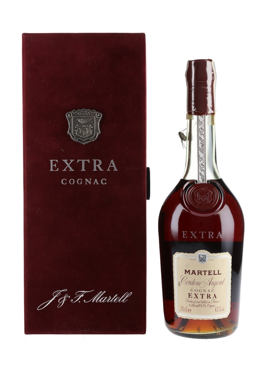 Martell Cordon Argent Extra Bottled 1980s-1990s - Seagram Mexico 70cl / 43%