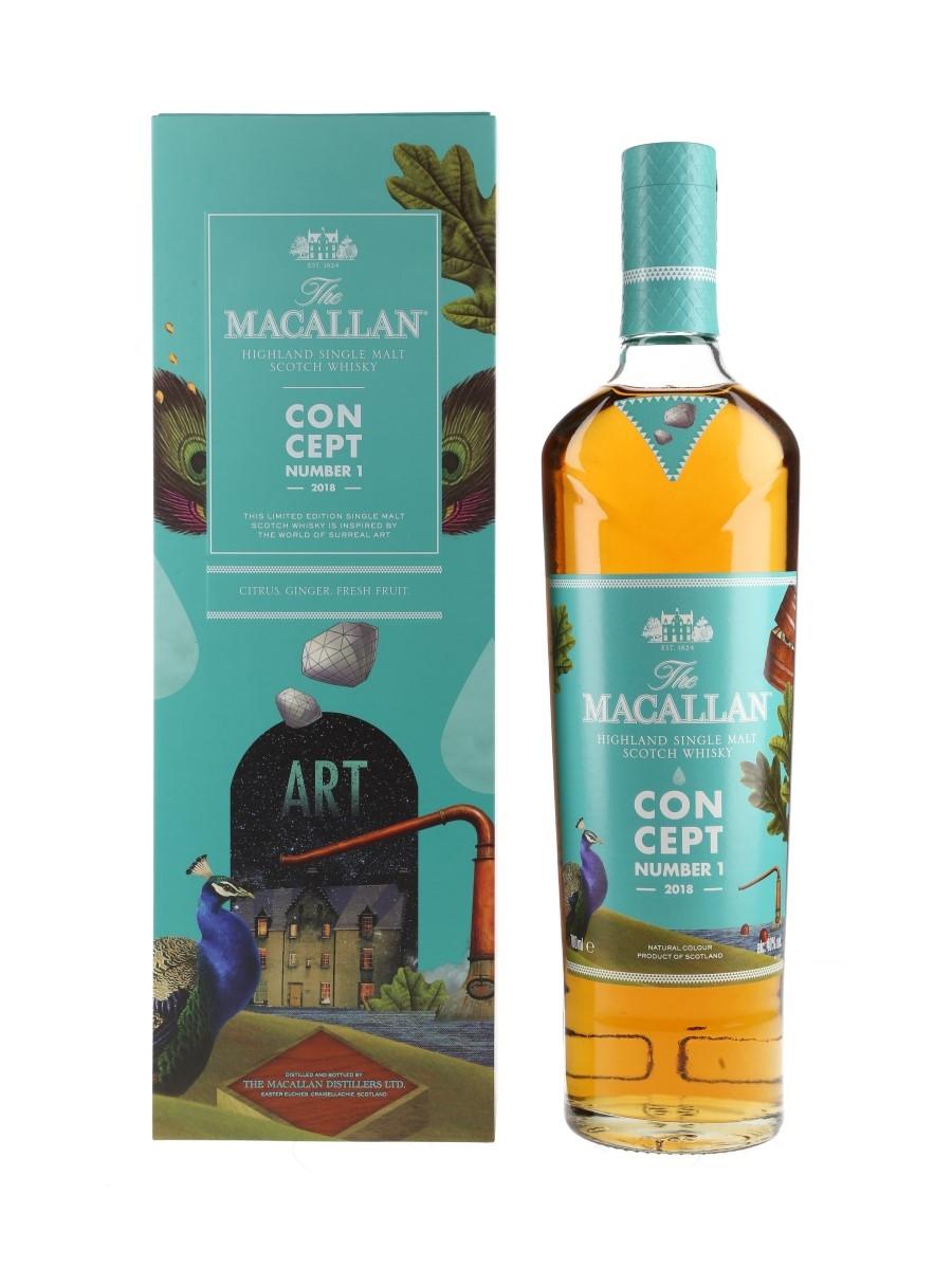 Macallan Concept Number 1 2018 Release 70cl / 40%