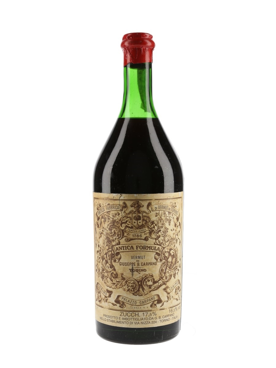 Carpano Antica Formula Vermouth Bottled 1960s-1970s 100cl / 16.5%