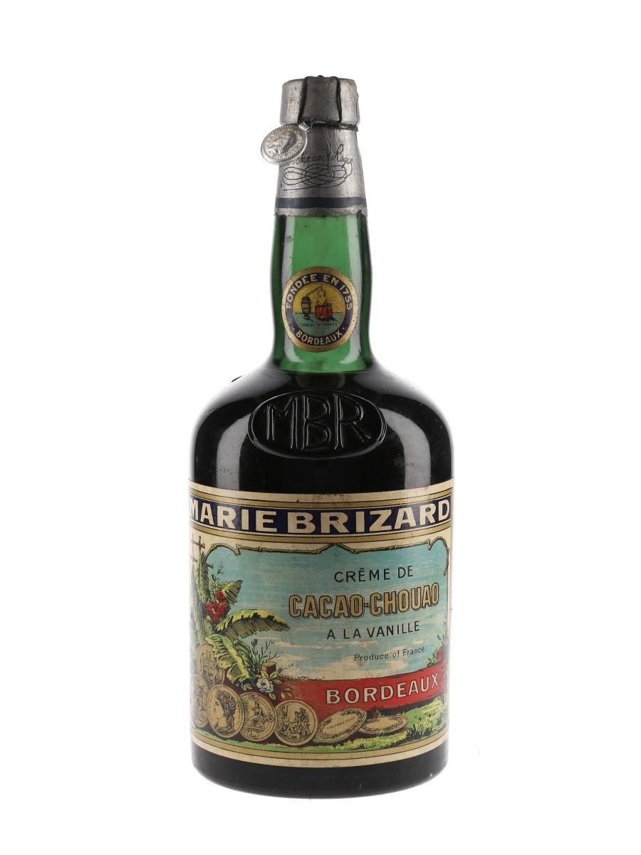 Marie Brizard Creme De Cacao Chouao A La Vanille Bottled 1940s 75cl / 25%