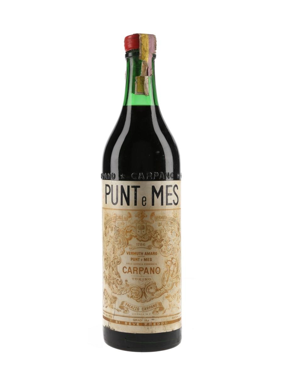 Carpano Punt E Mes Bottled 1960s 100cl