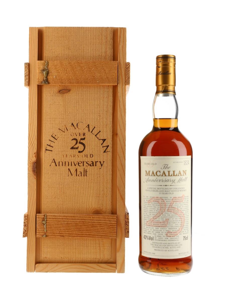Macallan 1968 25 Year Old Anniversary Malt Bottled 1994 - US Release 75cl / 43%