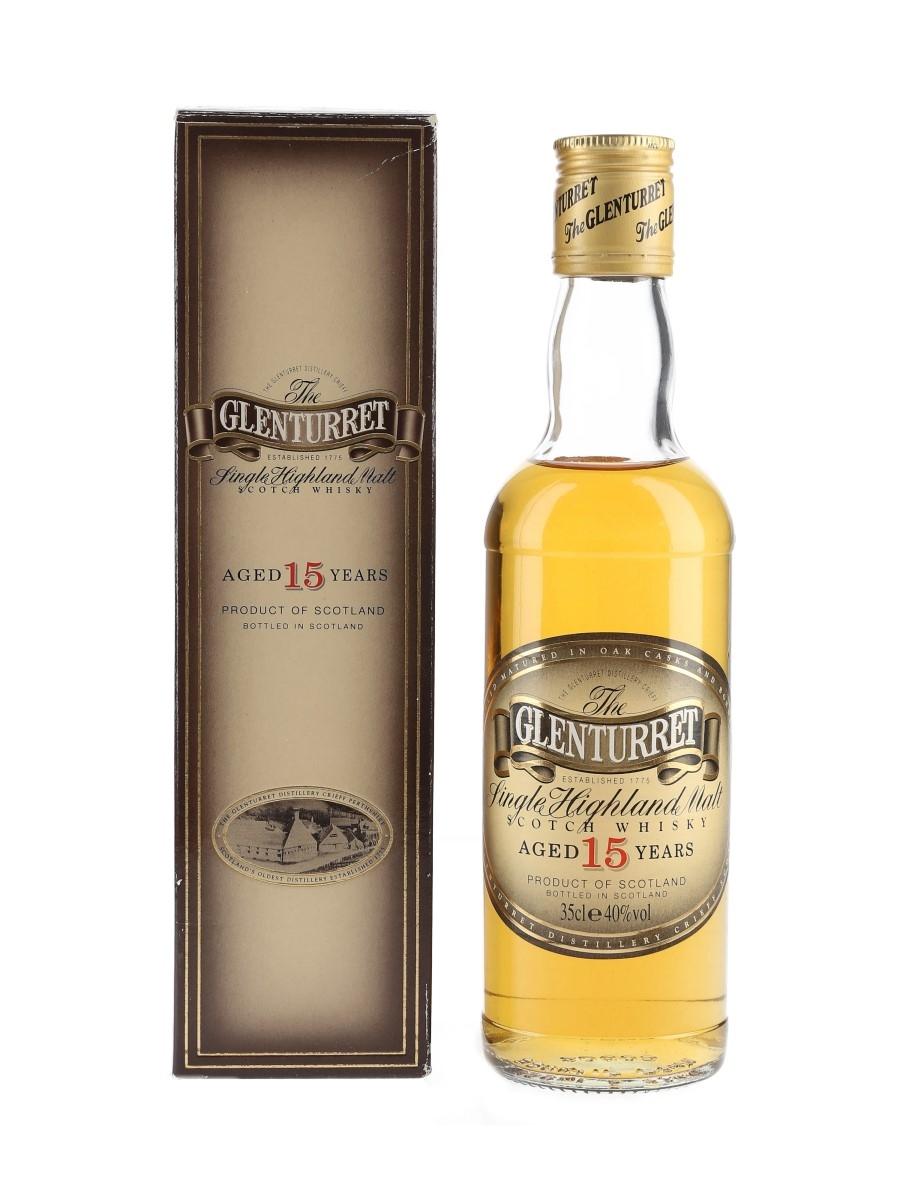 Glenturret 15 Year Old Bottled 1990s 35cl / 40%