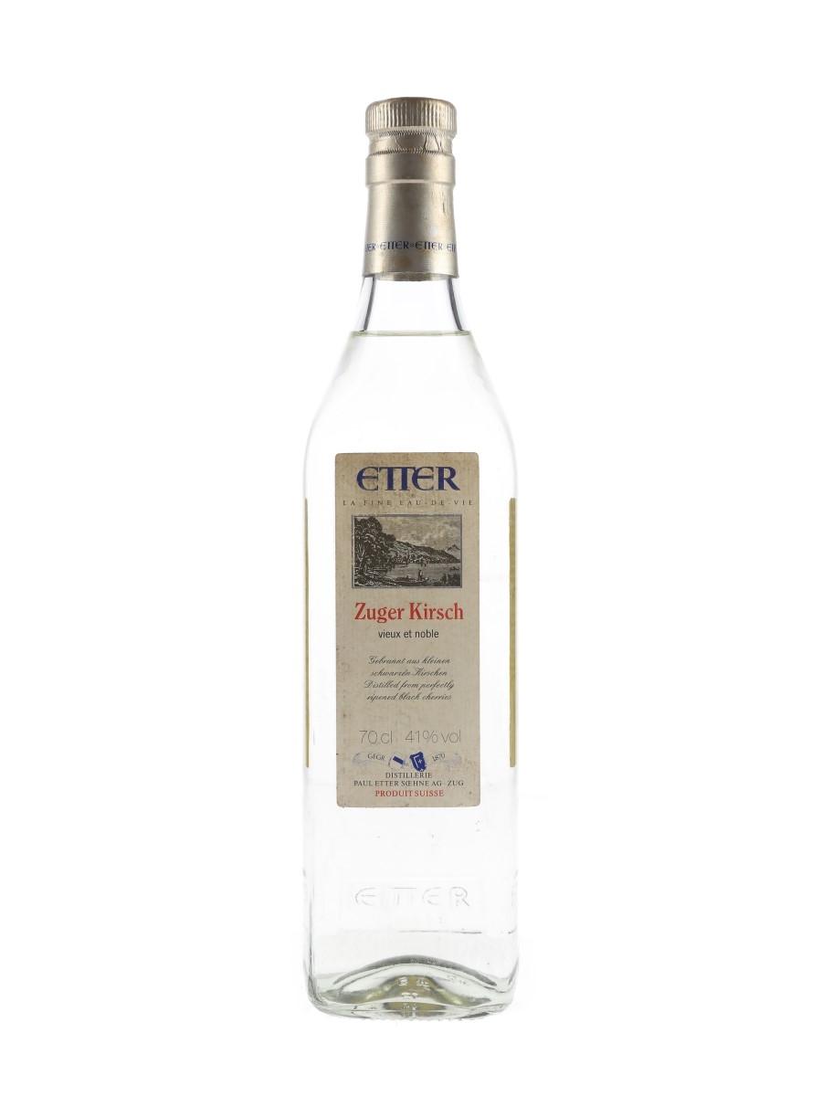 Etter Zuger Kirsch Bottled 1990s 70cl / 41%