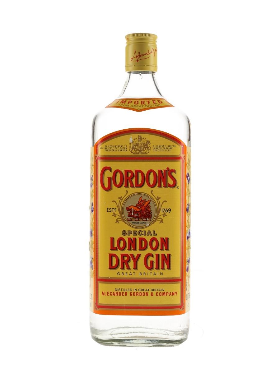 Gordon's Special London Dry Gin Bottled 1990s 100cl / 37.5%