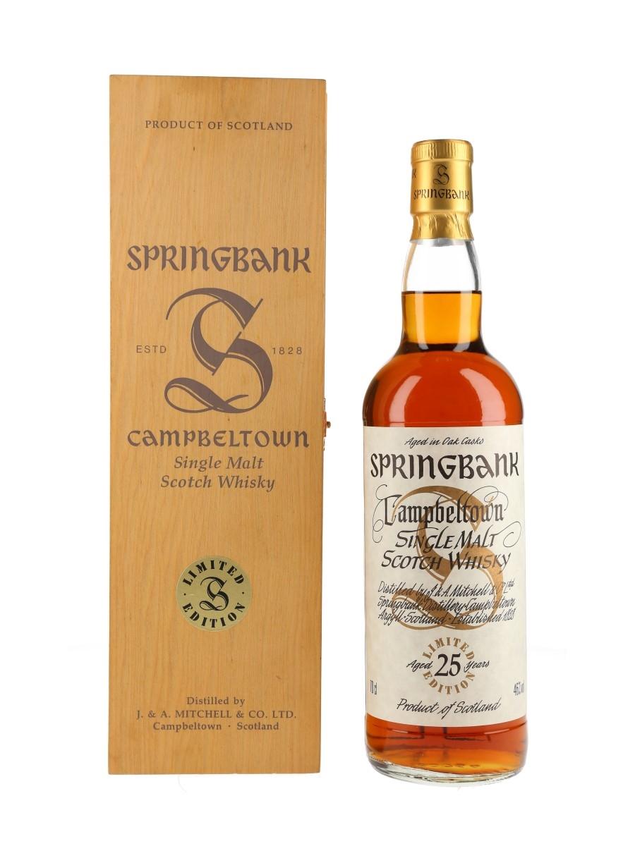 Springbank 25 Year Old Millennium Set 70cl / 46%