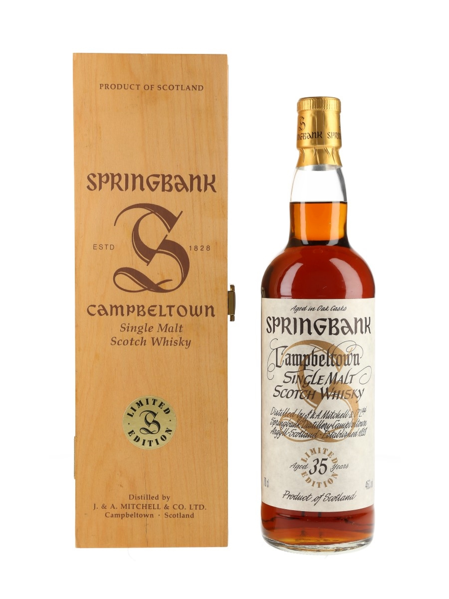 Springbank 35 Year Old Millennium Set 70cl / 46%