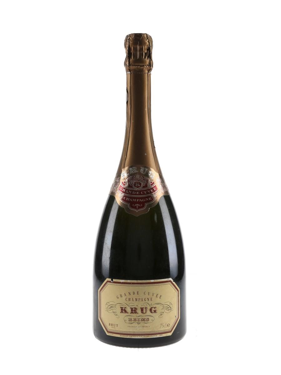 Krug Grande Cuvee Bottled 1980s-1990s 75cl / 12%
