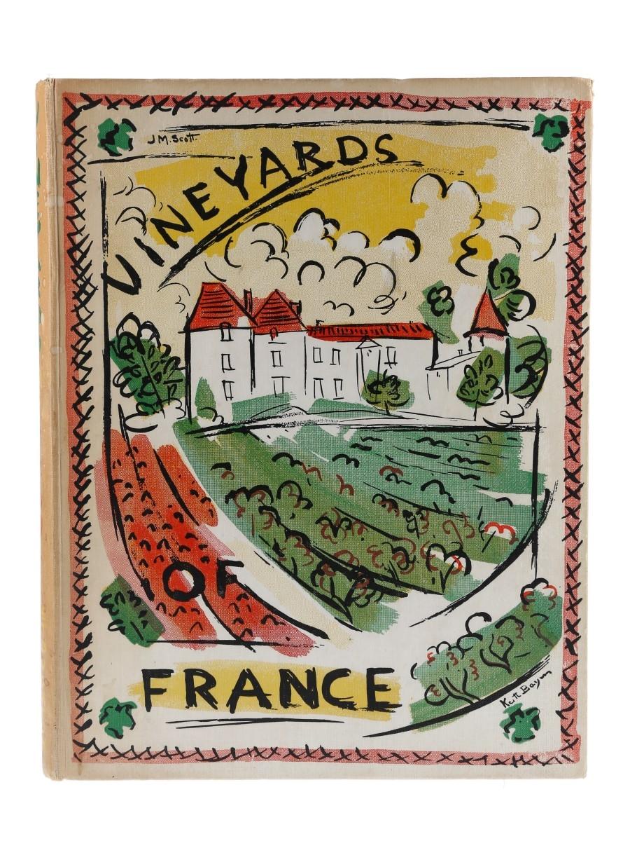 Vineyards of France J.M Scott Paintings and Drawings by Keith Baynes