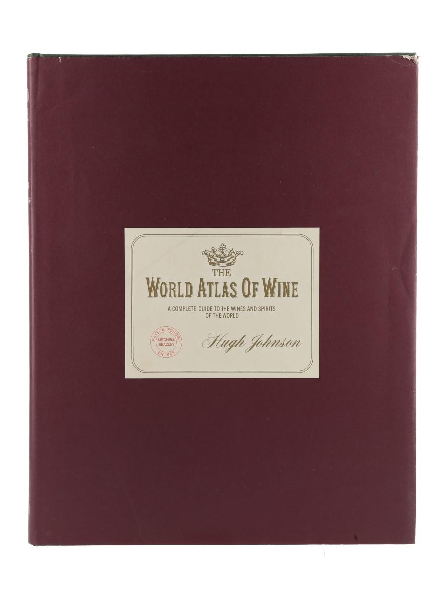 The World Atlas of Wine 1st Edition - 9th Printing Hugh Johnson