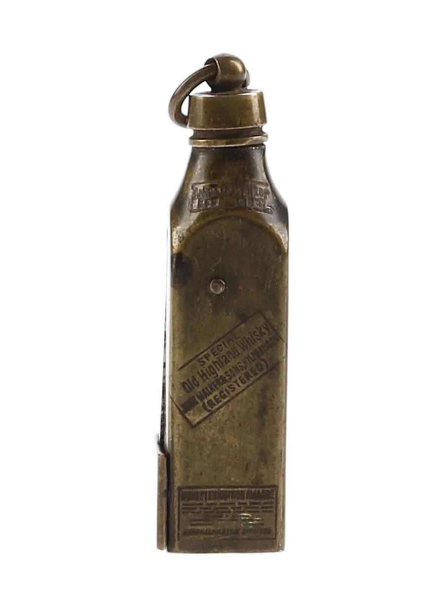 Johnnie Walker Special Old Highland Whisky Cigar Cutter Circa 1905 5cm Tall