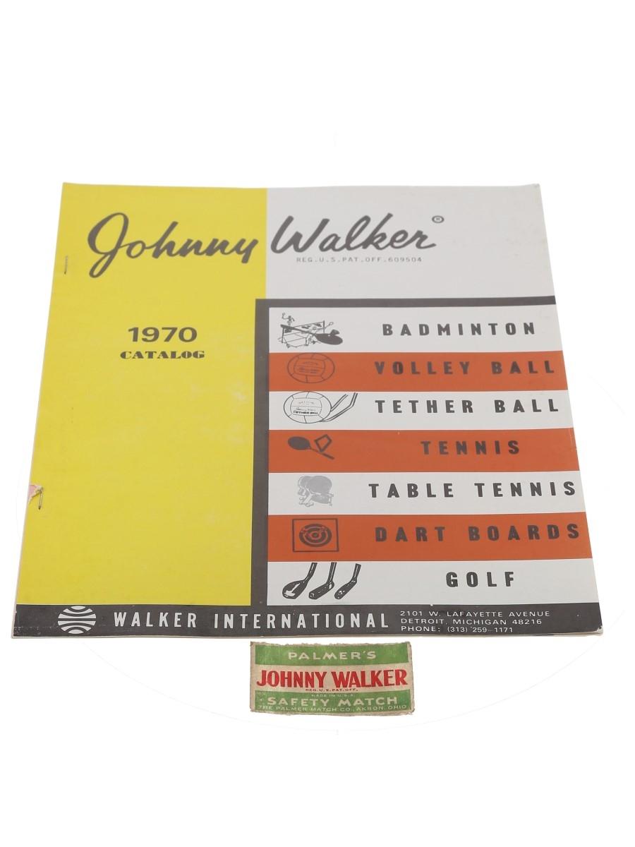 Johnny Walker 1970 Sports Catalogue