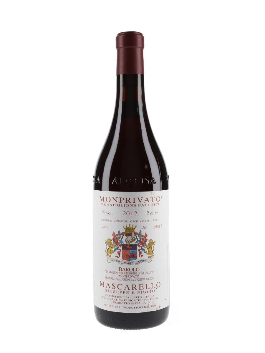 Mascarello Monprivato Barolo 2012  75cl / 14%