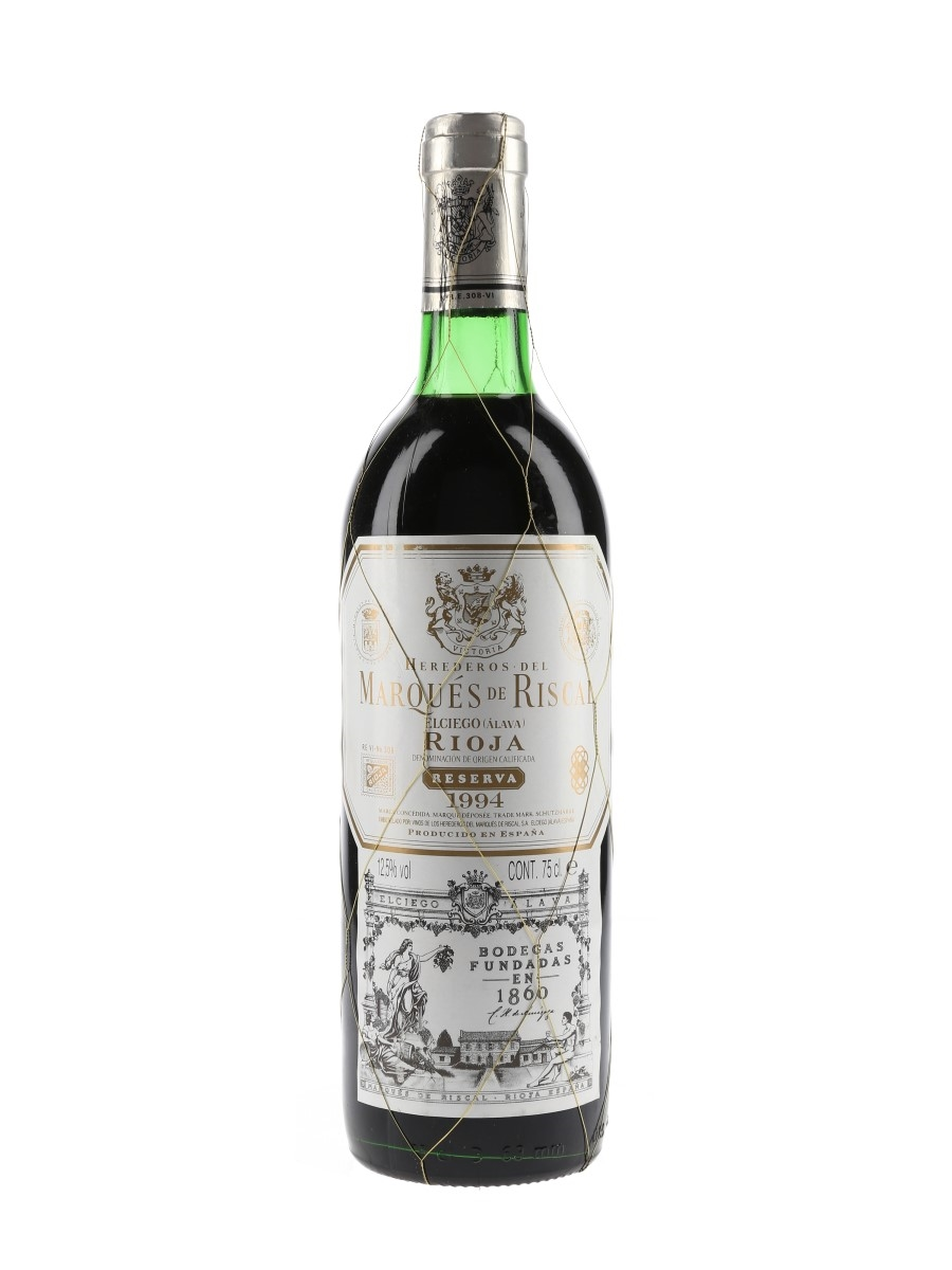 Marques De Riscal 1994 Rioja Reserva  75cl / 12.5%