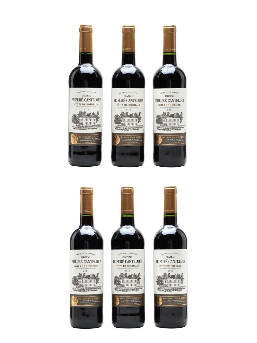 Chateau Prieure Canteloup 2011 Cotes De Bordeaux 6 x 75cl / 13%