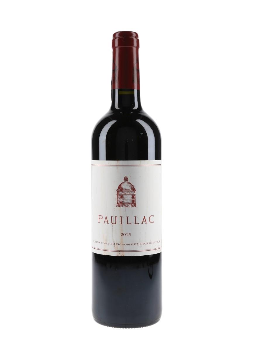 Pauillac 2015 Chateau Latour 75cl / 13.5%