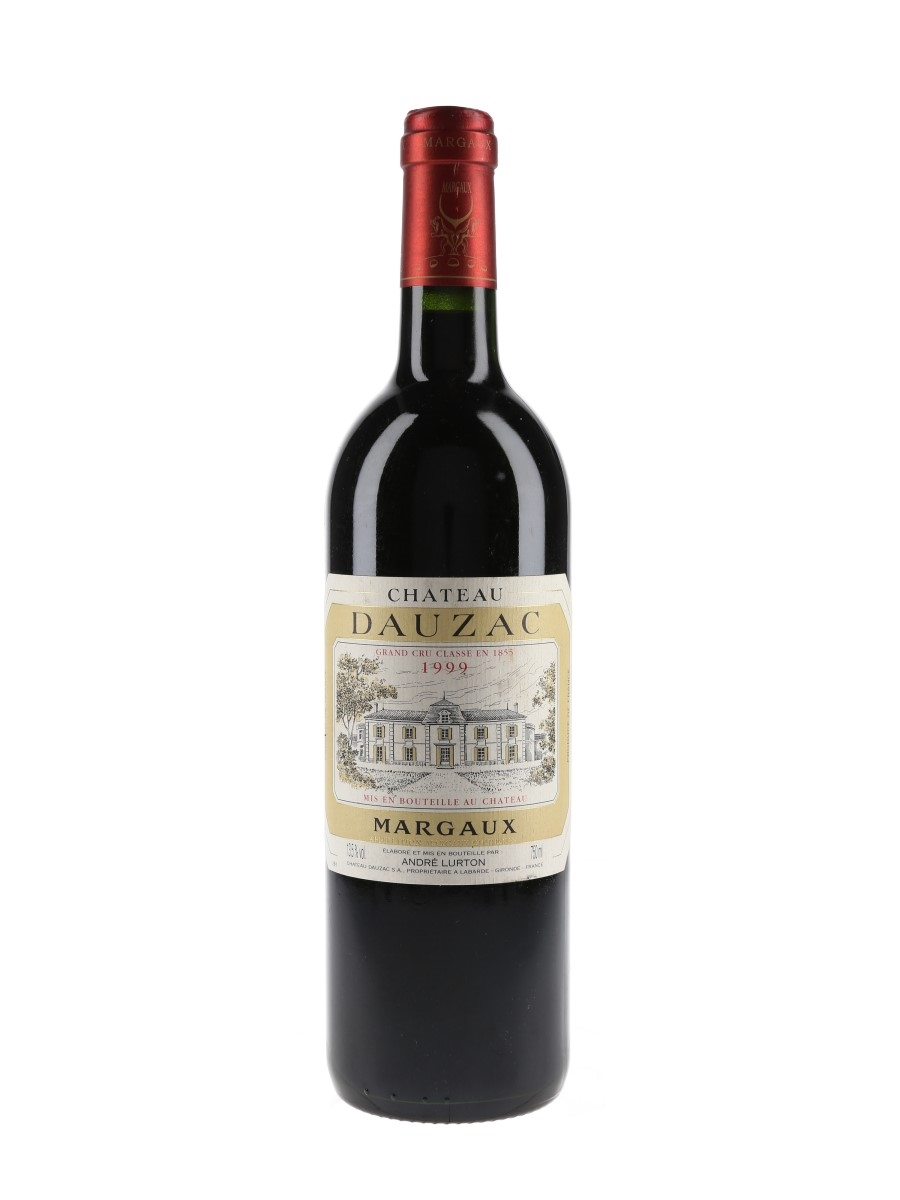 Chateau Dauzac 1999 Margaux 75cl / 13.5%