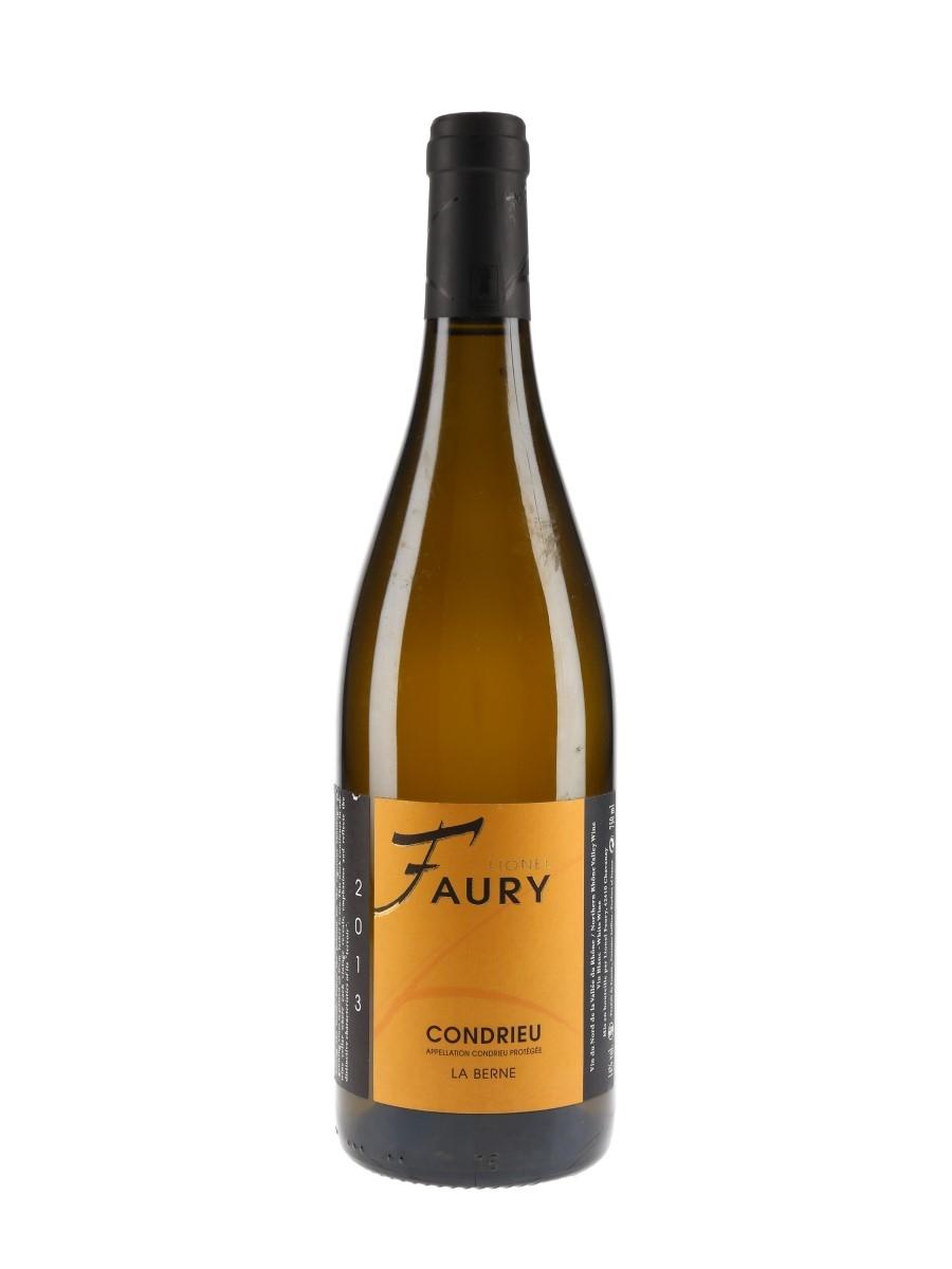 Condrieu La Berne 2013 Lionel Faury 75cl / 14%