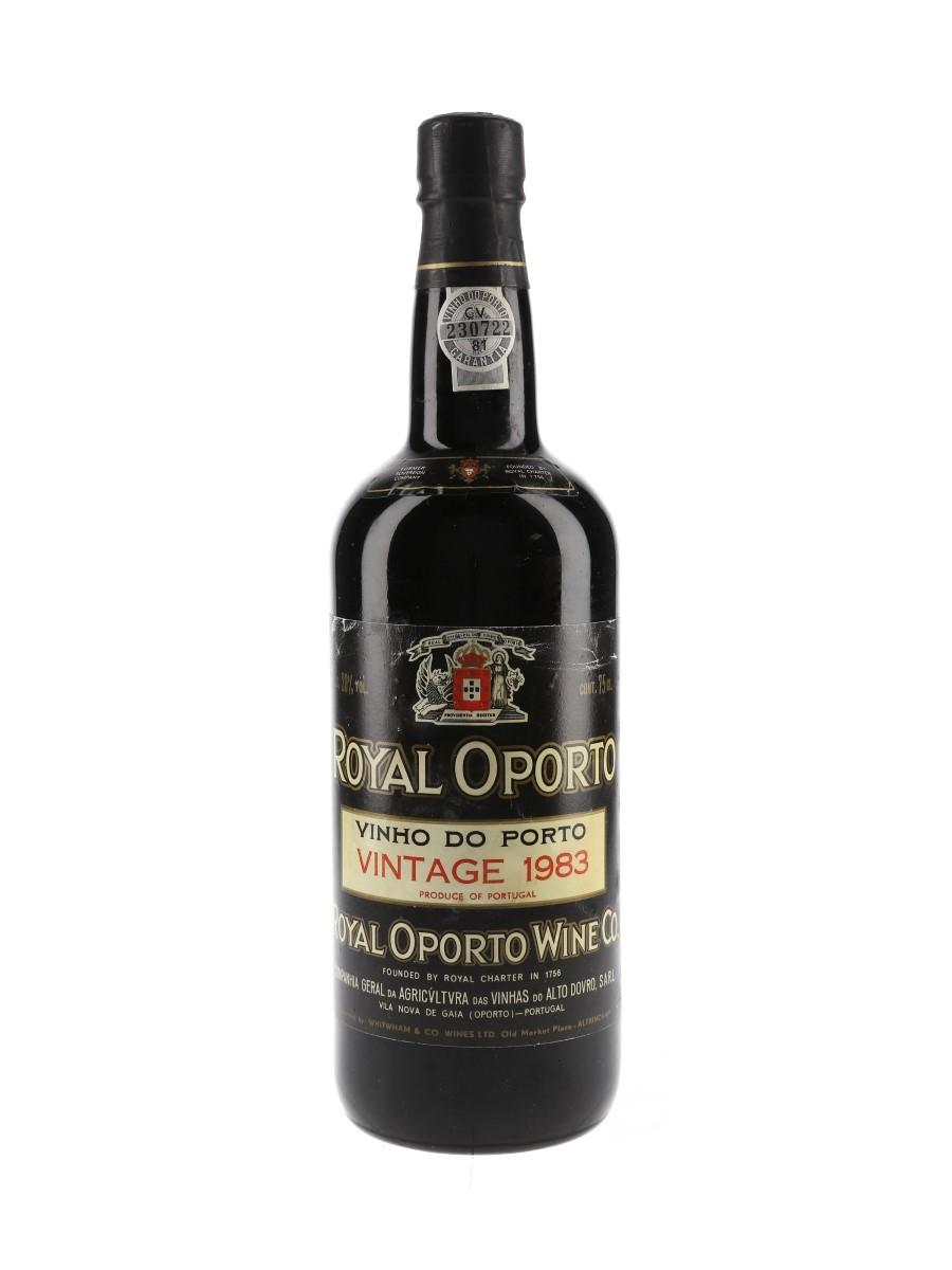 Royal Oporto 1983 Vintage Port  75cl