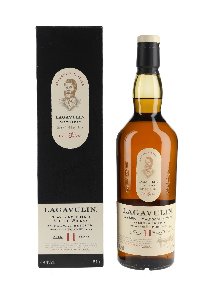 Lagavulin 11 Year Old Offerman Edition Guinness Cask Finish 75cl / 46%