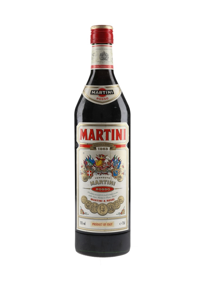 Martini Rosso Vermouth Bottled 1980s 75cl / 15%