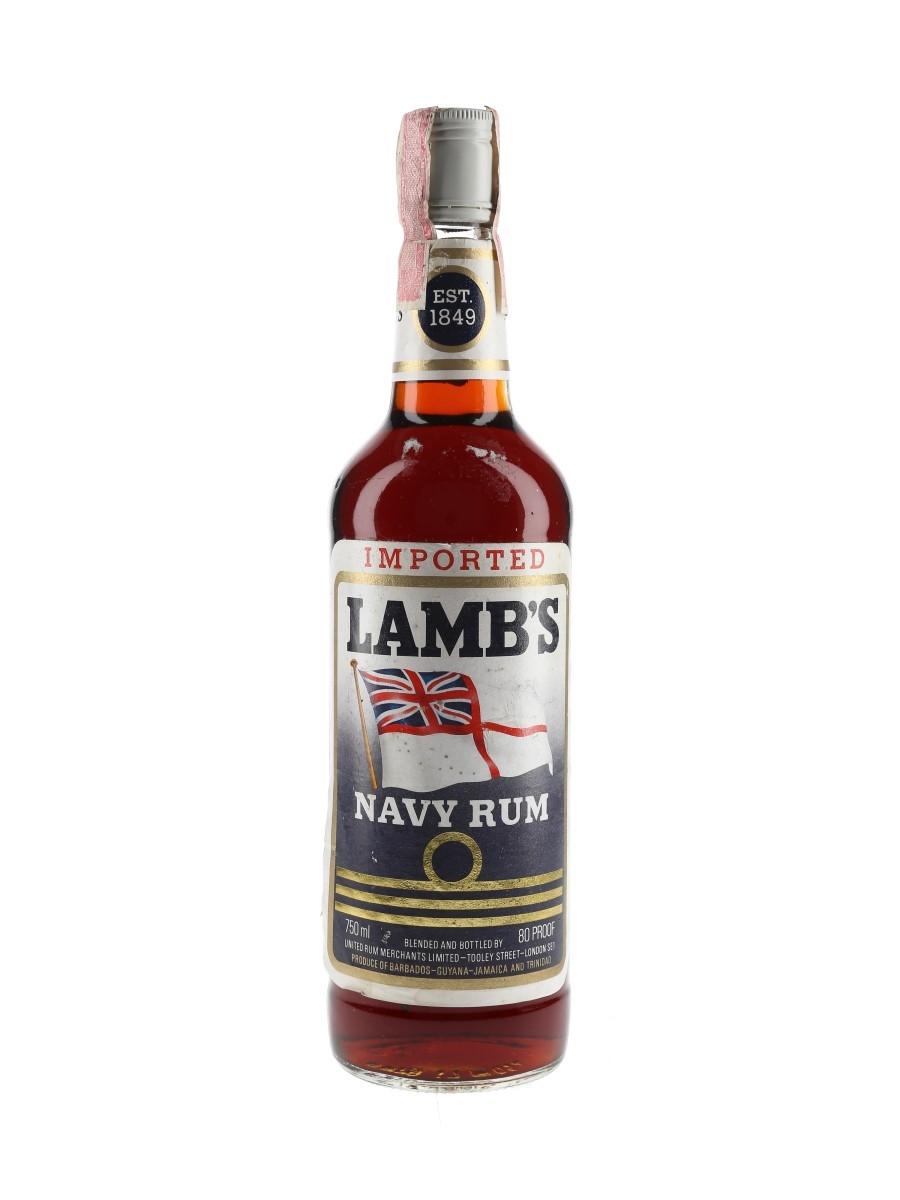 Lamb's Navy Rum Bottled 1980s 75cl / 40%