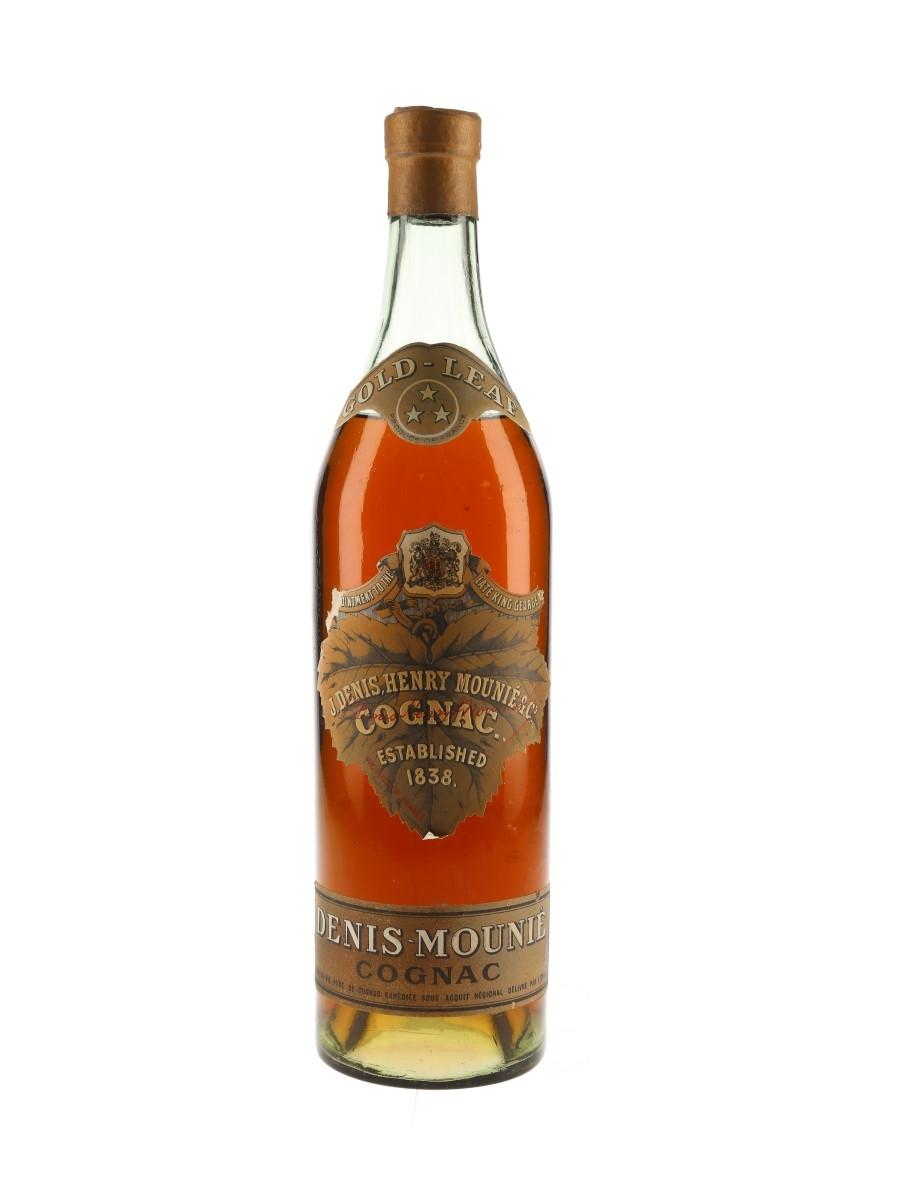 Denis Mounie Gold Leaf Bottled 1950s 68cl / 40%