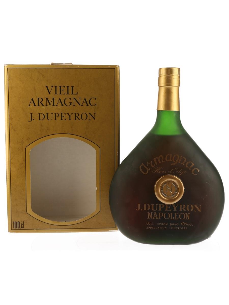Dupeyron Hors D'Age Napoleon Armagnac Bottled 1980s 100cl / 40%