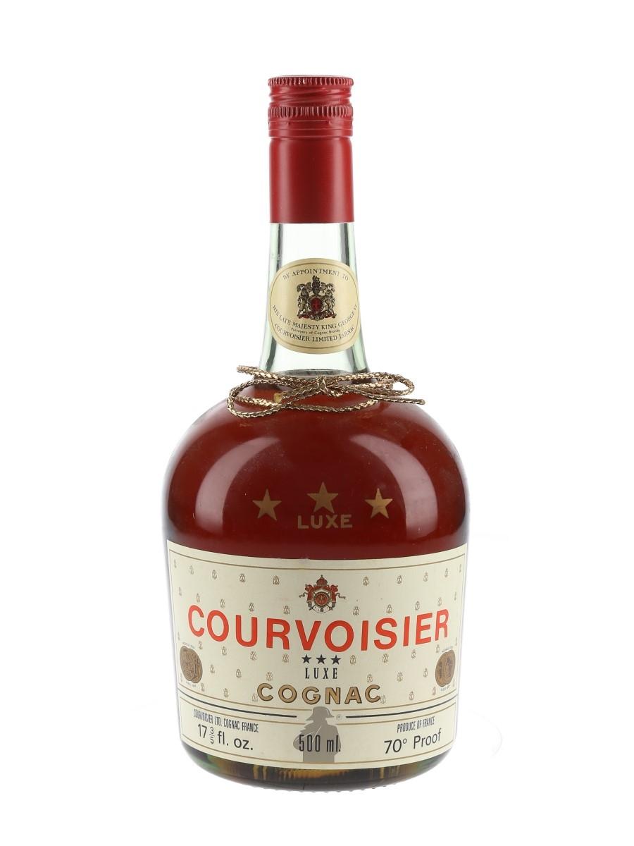 Courvoisier 3 Star Luxe Bottled 1970s - 1980s 50cl / 40%