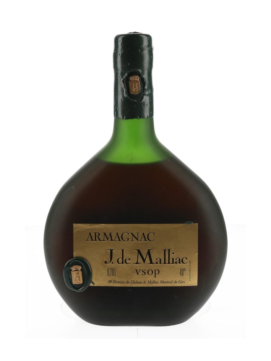 J De Malliac VSOP Armagnac Bottled 1970s - Deinhard 70cl / 40%
