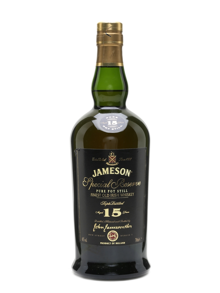Jameson 15 Year Old Special Reserve 70cl / 40%