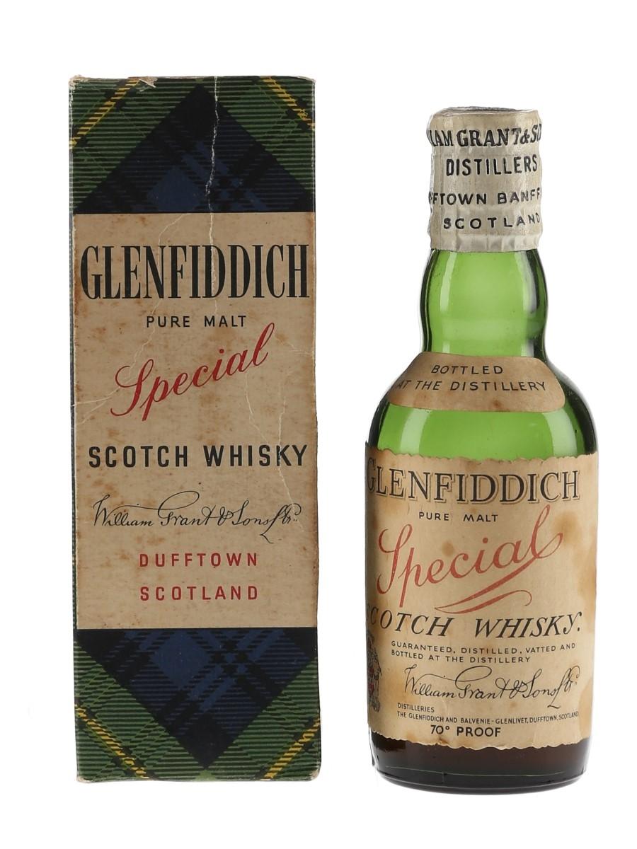 Glenfiddich Special Bottled 1940s 5cl / 40%
