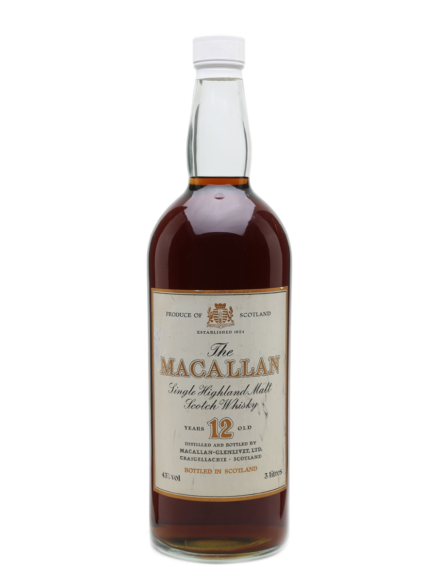 Macallan 12 Year Old 3 Litre 300cl / 43%