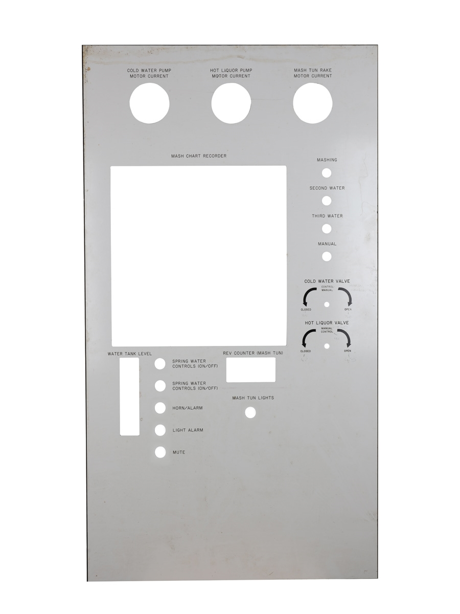 Distillery Control Panel  97cm x 55cm