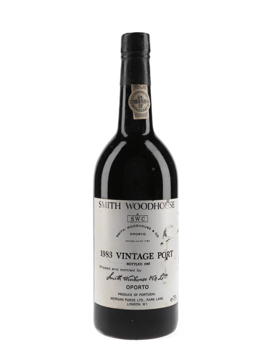 Smith Woodhouse 1983 Vintage Port Bottled 1985 75cl