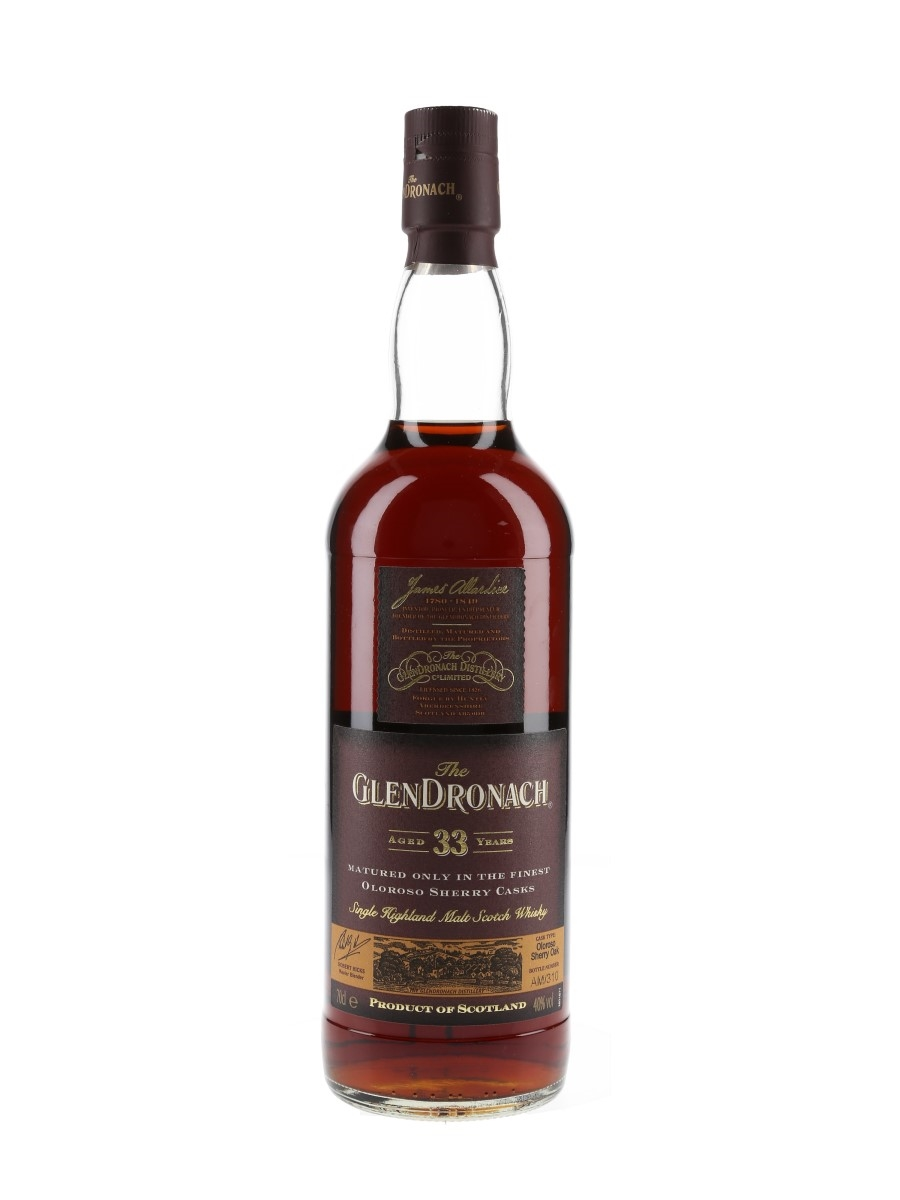 Glendronach 33 Year Old Bottled 2000s 70cl / 40%