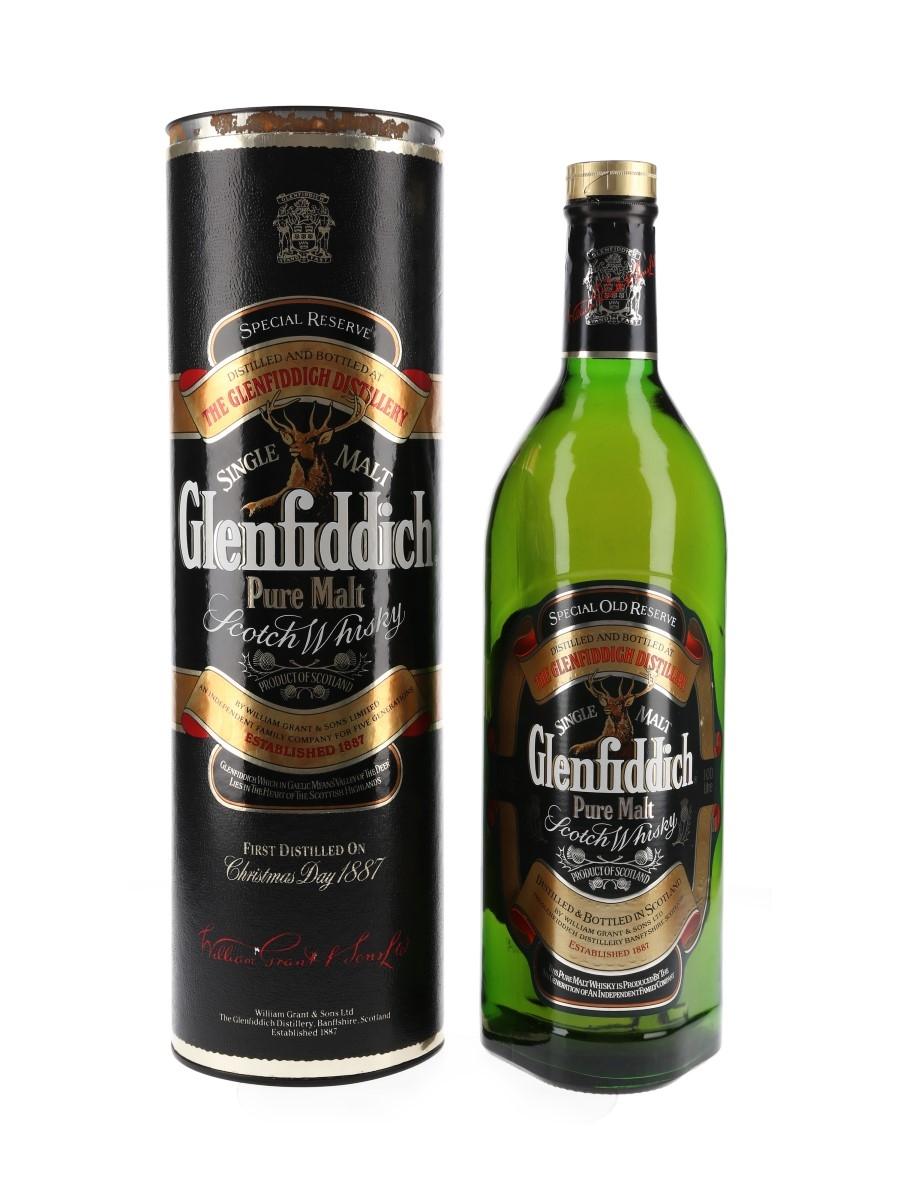 Glenfiddich Special Old Reserve Pure Malt Bottled 1990s 100cl / 43%