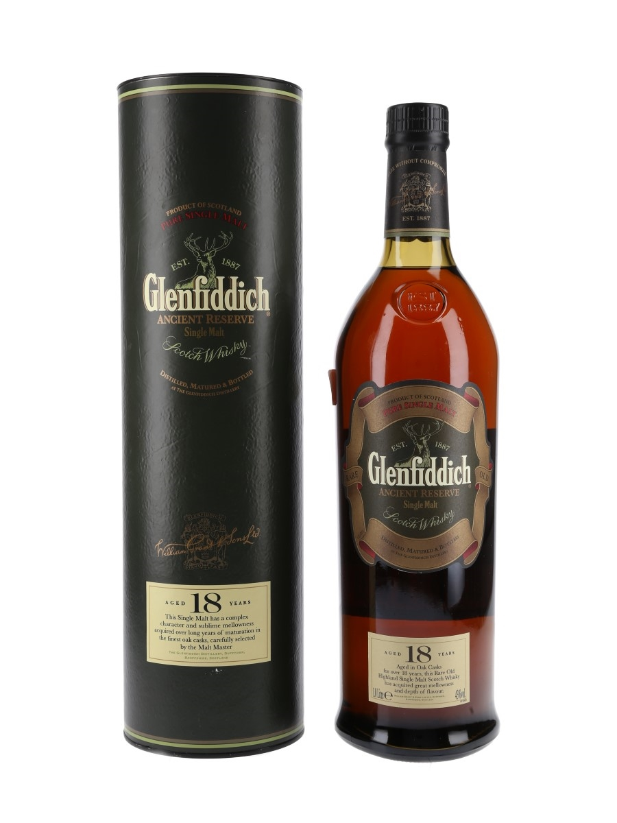 Glenfiddich 18 Year Old Ancient Reserve  100cl / 43%