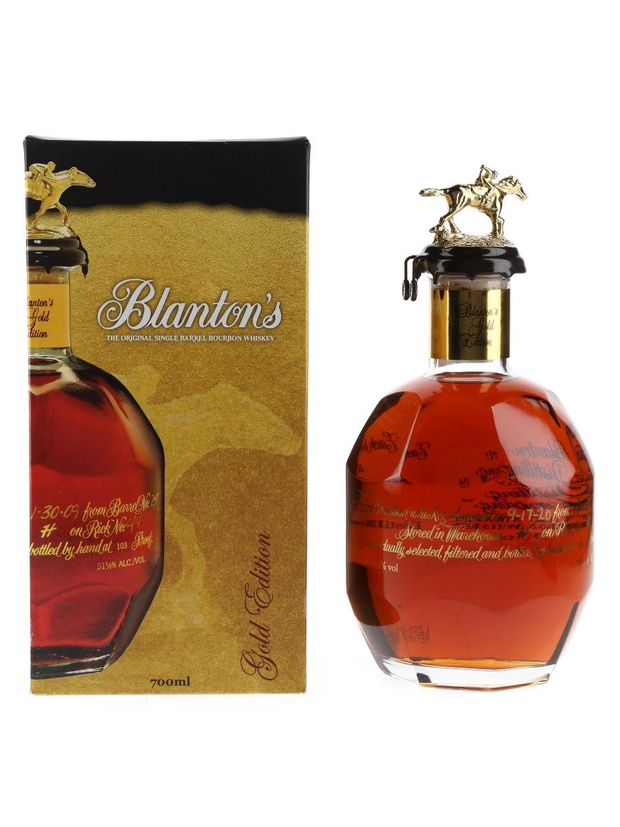 Blanton's Gold Edition Barrel No. 512 Bottled 2020 70cl / 51.5%