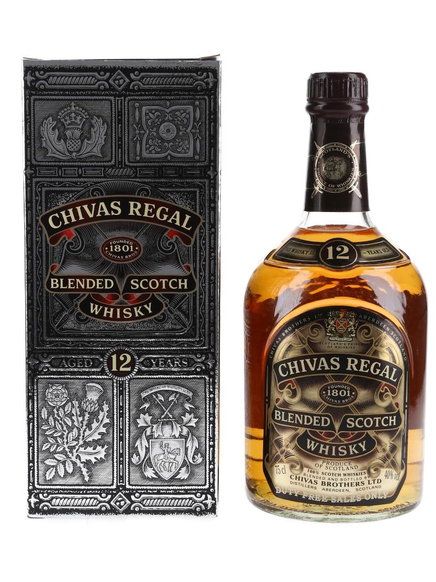 Chivas Regal 12 Year Old Bottled 1980s 75cl / 40%