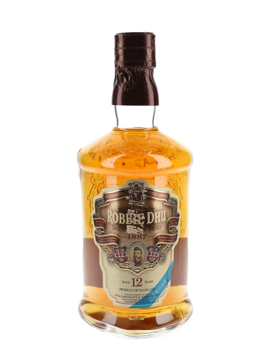 Robbie Dhu 12 Year Old William Grant & Sons 70cl / 40%
