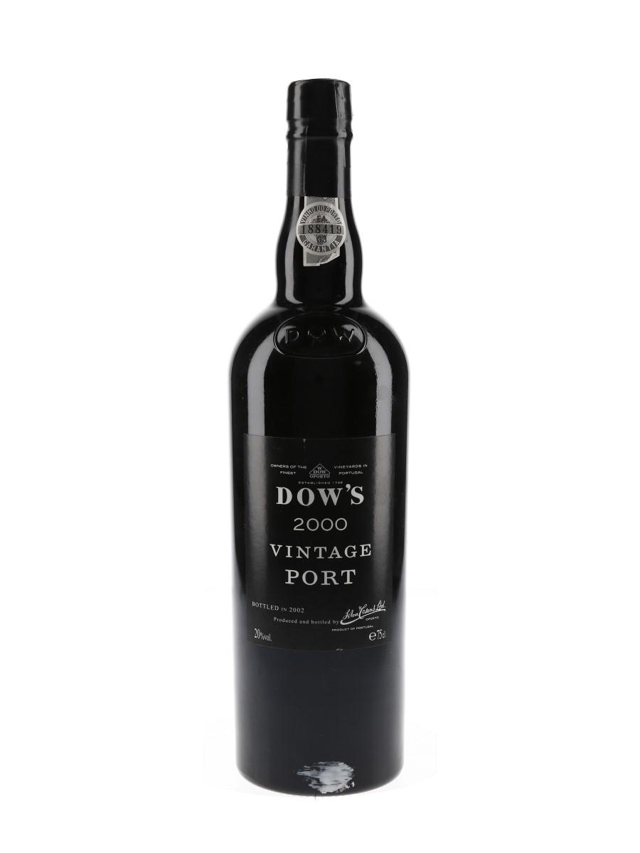 Dow's 2000 Vintage Port  75cl / 20%