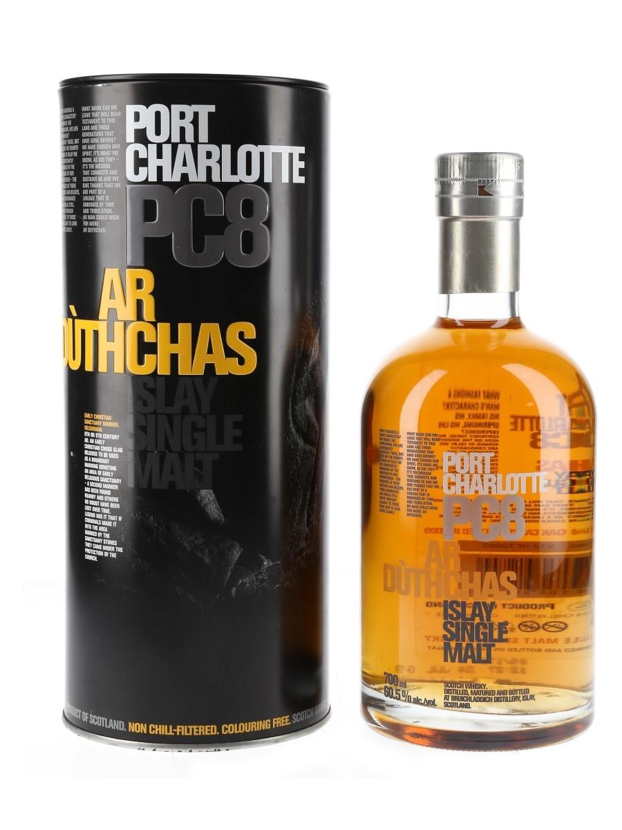 Port Charlotte PC8  70cl / 60.5%