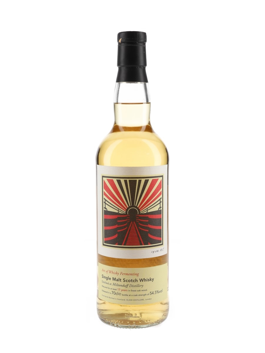 Miltonduff 17 Year Old Art of Whisky Fermenting - Elixir Distillers 70cl / 54.5%