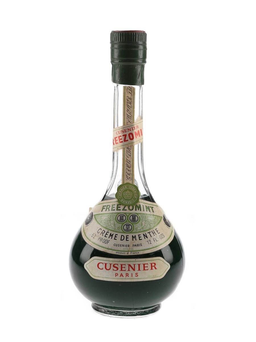 Cusenier Freezomint Creme De Menthe Bottled 1960s 34cl / 30%