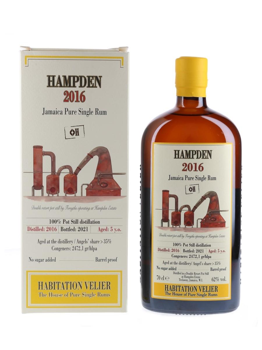 Hampden 2016 5 Year Old Bottled 2021 - Habitation Velier 70cl / 62%