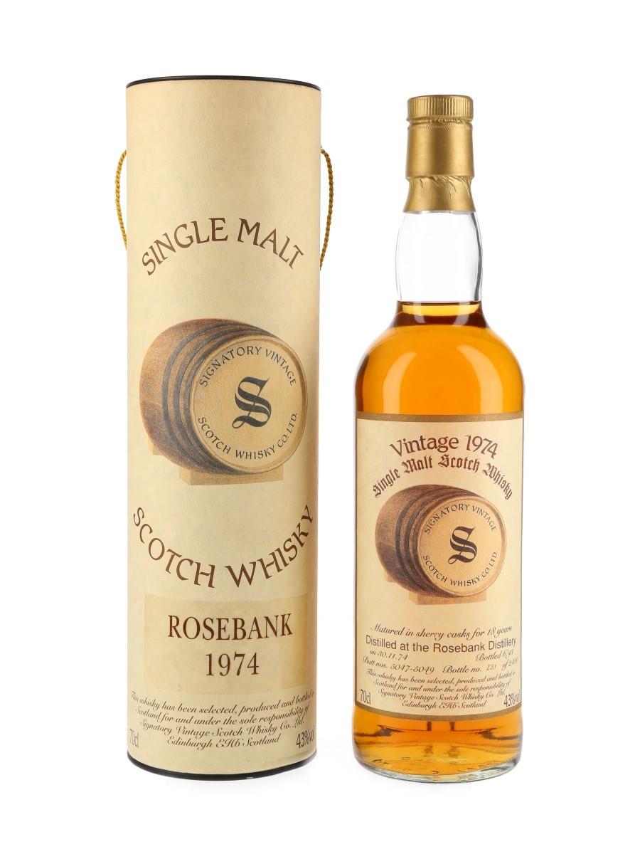 Rosebank 1974 Bottled 1993 - Signatory Vintage 70cl / 43%