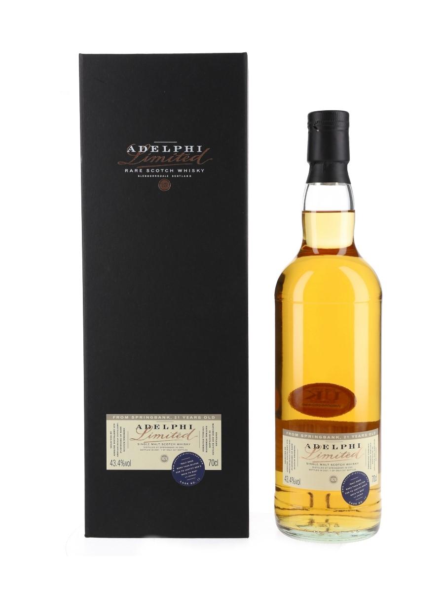 Springbank 2000 21 Year Old Bottled 2021 - Adelphi 70cl / 43.4%