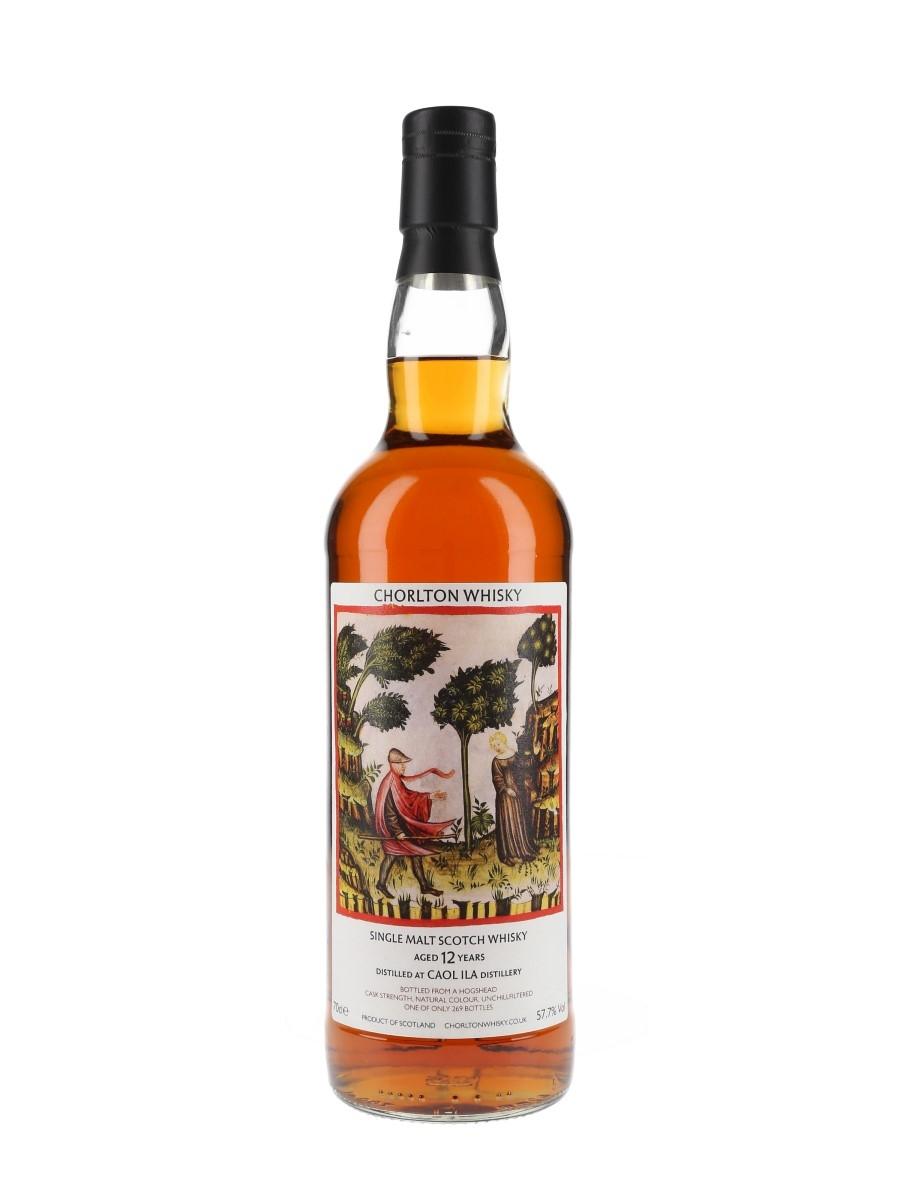 Caol Ila 12 Year Old Chorlton Whisky 70cl / 57.7%