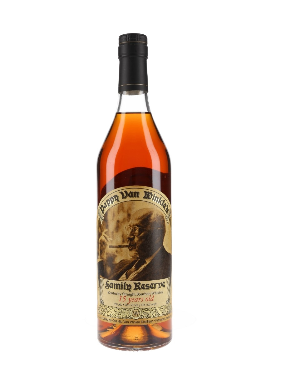 Pappy Van Winkle's 15 Year Old Family Reserve  75cl / 53.5%